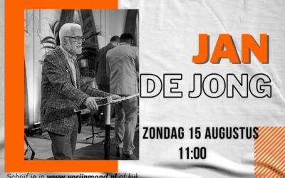 Jan de Jong | 15 augustus 2021