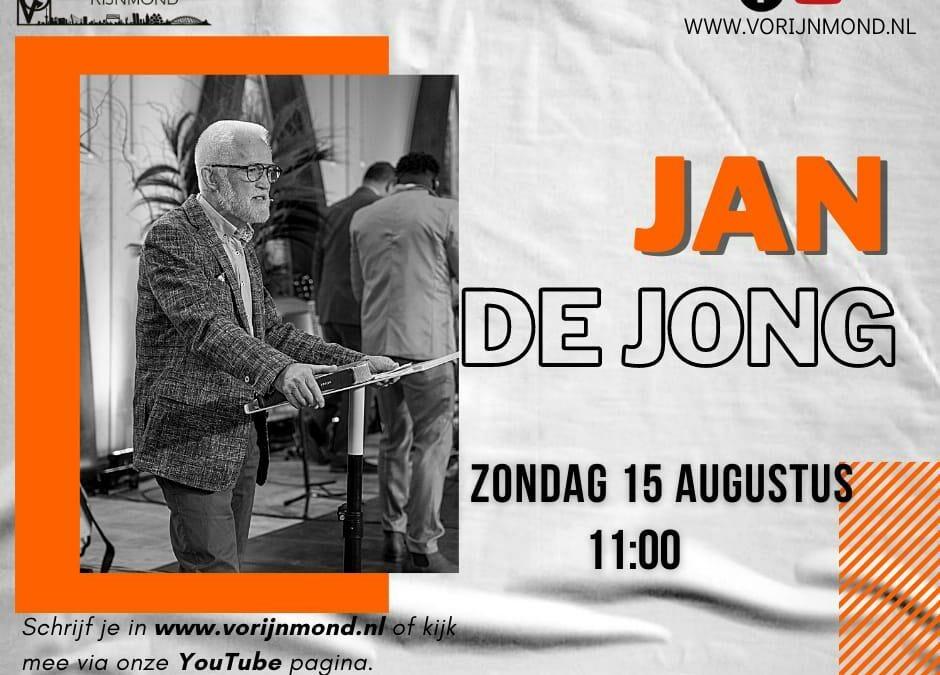 Jan de Jong   15 augustus 2021